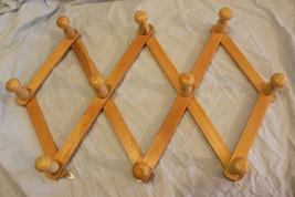 Vintage Light Wood Multi-Hook Laundry Hanger - $14.99