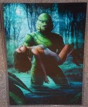 Creature From The Black Lagoon Glossy Print 11 x 17 In Hard Plastic Sleeve - $24.99