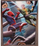 Spider-Man vs Doc Ock Glossy Print 11 x 17 In H... - $24.99