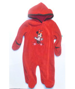 Disney Baby Minnie Mouse Infant Girls Hooded Sl... - $10.39