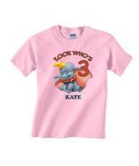Dumbo Personalized Light Pink Birthday Shirt - $16.99