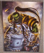 World Of Warcraft Thrall Orc Warchief Glossy Pr... - $24.99