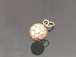Vintage Sterling Silver Ball Charm Pendant  - $7.00