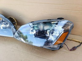 05-06 Nissan Altima 3.5 SE-R  Xenon Headlight Head Light Lamps Set L&R image 2