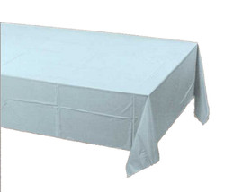2 Creative Converting Paper - plastic lined  Banquet Table Covers light ... - €5,90 EUR