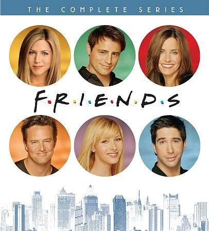 Friends   the complete series collection boxset  dvd  2013  aniston cox leblanc