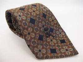 Vintage COUNTESS MARA Neck Tie 100% Silk Heavy Jacquard Weave Ornate Design - $9.49