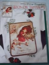 Daisy Kingdom Iron On Transfer Umbrella & Holly Christmas New - $9.99