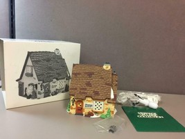 "Dept 56 Dickens Village Series - ""Wrenbury Baker"" #58331 Heritage Villag... - $41.57"