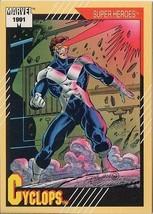Cyclops 1991 Marvel Comics Impel Card # 51 - $1.24