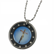 Jesus Christ Quantum Scalar Energy Pendant with Stainless Steel Chain 30... - $25.00