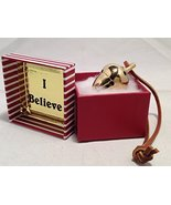 I Believe Polar Express Brass Acorn Bell Exclusively From Elf Works Lane - $39.99