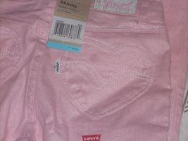 Levi's Kinzlee Shimmer Color Skinny Jeans-Adjustable Waist & Heart Pkt Sz 6X New - $14.99