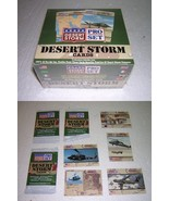 Sealed Box of Desert Storm PRO Set Trading Cards - $8.00