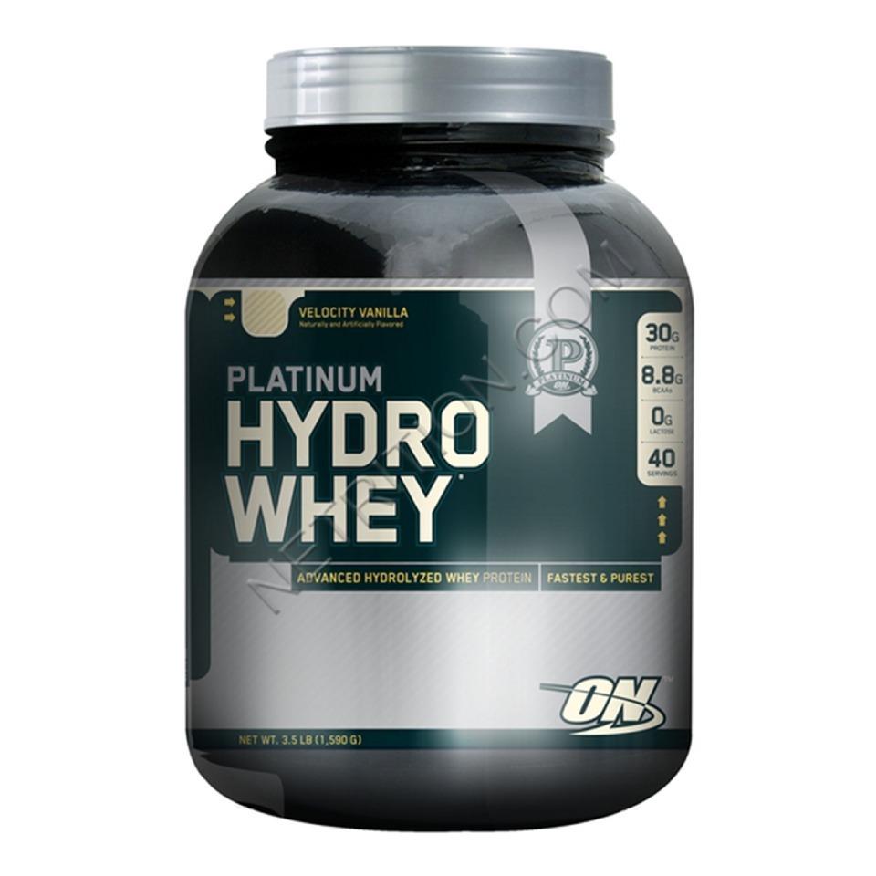 ON (Optimum Nutrition) Platinum Hydro Whey, 3.5 lb Velocity Vanilla