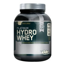 ON (Optimum Nutrition) Platinum Hydro Whey, 3.5 lb Velocity Vanilla - $159.95