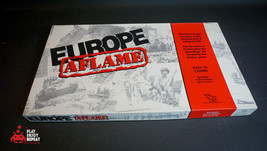 Tsr Europe Aflame 1989 Board Game Fast And Free Uk Postage - $49.46