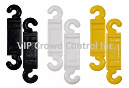 PLASTIC STANCHION, REPLACEMENT C-HOOK, VIP CROWD CONTROL - $9.99