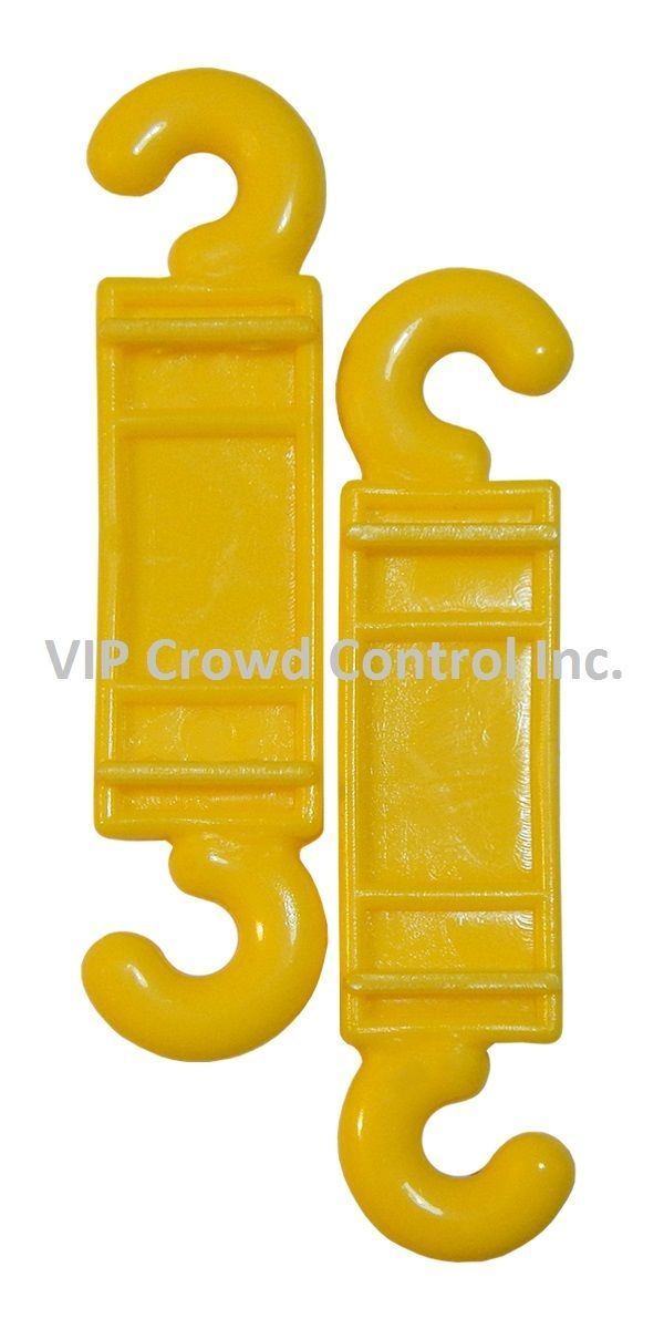 PLASTIC STANCHION, REPLACEMENT C-HOOK, VIP CROWD CONTROL