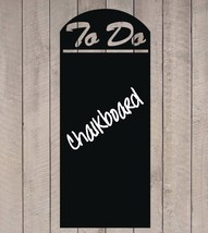 "Menu Board Style To Do Chalkboard Sign Vinyl Wall Sticker Decal 11""h x 26""w - $19.99"