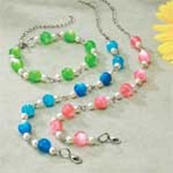 "Dog Moon Glow Necklaces  Fits Necks 8""-14"""