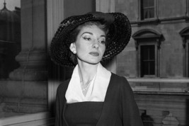 Maria Callas Lovely Portrait 18x24 Poster - $23.99