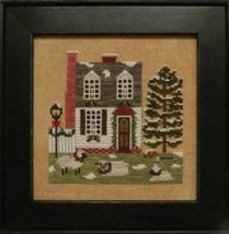 Christmas In The Colonies I holiday cross stitch chart Stitches Through Time  - $10.80