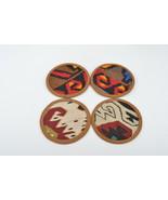 kilim coasters,wool coasters,rug coasters,coffee table accents,coasters,... - $14.90