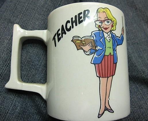 Mug Teacher   - $9.04