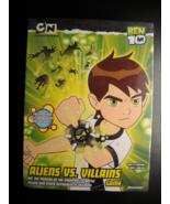 Ben 10 Aliens Vs Villians Game 2008 Pressman Toy Still Factory Sealed in... - $9.99
