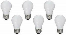 GE Appliance Light Bulb 40w A15 - (Pack of 6) (Frosted) - $22.99