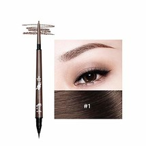 Music Flower 2 in 1 Microblading Eyebrow Pencil Tint 1.5mm Super Fine Wa... - $11.32