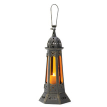 "Gothic Tower Candle Lantern 22"" tall - $24.00"