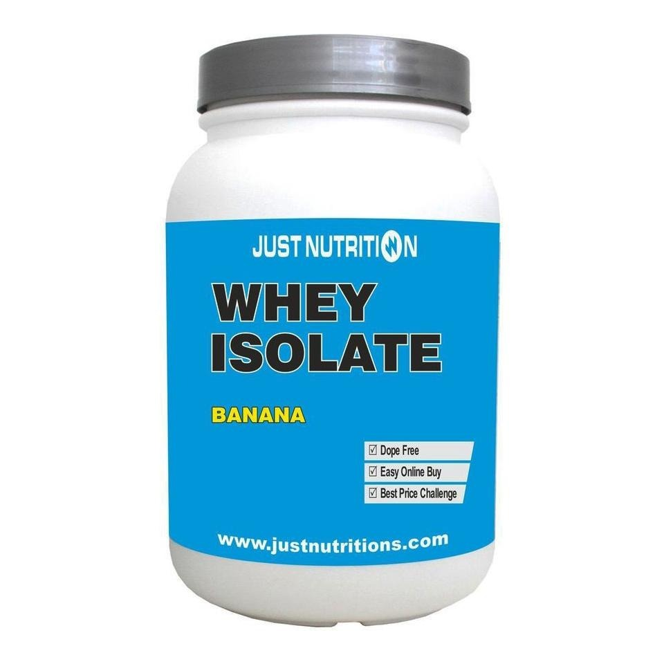 Just Nutrition Whey Isolate, 2.2 lb Banana image 1