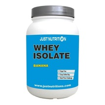 Just nutrition whey isolate  2.2 lb banana thumb200