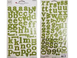 "Heidi Grace Small Alphas Cardstock Stickers ""Jolly & Bright #1-73115"