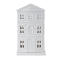 WEDGWOOD Christmas Tealight House Lithophane 14cm  NEW IN THE WEDGWOOD BOX - $89.09
