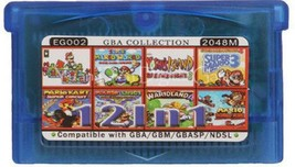 12 in 1 Mario Series - GameBoy advance GBA Video Game compatible model N... - $23.52