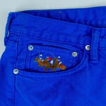 Ralph Lauren Polo Royal Blue Denim Jeans 15941 W 36 L 32 (Act W 38 L 33) Pony - $49.99