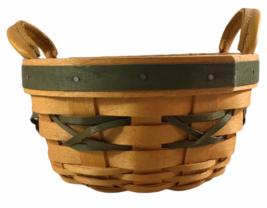 Vintage 1999 Longaberger Tree Trimming Basket - $16.14
