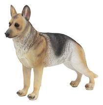 "Ebros Lifelike Realistic German Shepherd Dog Statue with Glass Eyes 8.25"" Long A - $19.95"