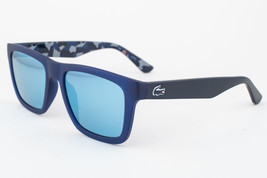 Lacoste Blue / Blue Mirrored Sunglasses L797S 424 - $97.51