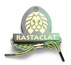 Rastaclat Mountain Dew Vert Jaune Rayure Tressé Lacet Bracelet RC001MD2 image 3