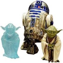 Kotobukiya Star Wars: Yoda & R2-D2 Dagobah ARTFX+ Statue (2 Pack) - $118.89