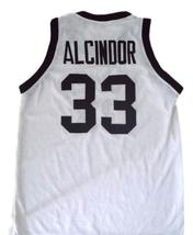 Alcindor #33 Power High School Abdul Jabbar Basketball Jersey White Any Size  image 5