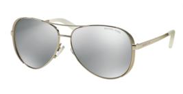 Polarized MICHAEL KORS Sunglasses CHELSEA MK 5004 1001Z3 Silver Tone w/ ... - $139.95