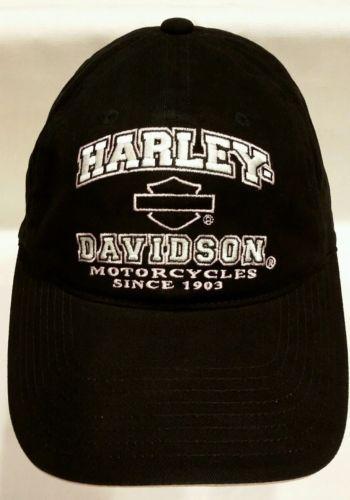 032de7f5c00ba 12. 12. Previous. Harley Davidson Womens Black Pink Bar   Shield Logo Since  1903 Baseball Cap Hat.