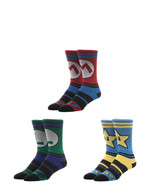 Super Mario Video Game 3 Pack Athletic Active Crew Socks Nwt - $19.95