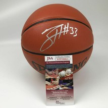 Autographed/Signed TOBIAS HARRIS 76ers F/S Full Size Spalding Basketball... - $149.99