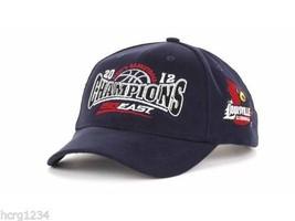 Louisville Cardinals Ncaa 2012 Final Four Big East Champions Basketball CAP/HAT - $15.19